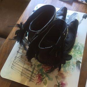 St. John's Bay Shoes - Repurposed cowboy boots